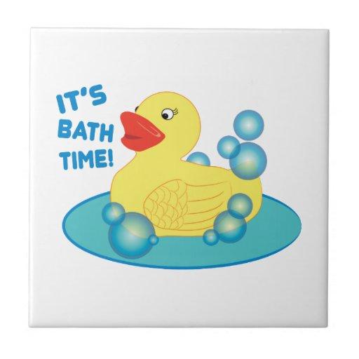 Its Bath Time Tiles