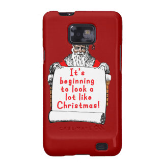 It's Beginning to Look a lot like Christmas Samsung Galaxy S2 Cases