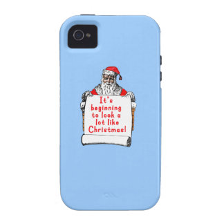 It's Beginning to Look a lot like Christmas iPhone 4/4S Cover