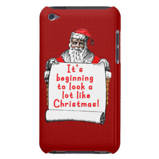 It's Beginning to Look a lot like Christmas Barely There iPod Case