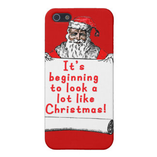 It's Beginning to Look a lot like Christmas Case For The iPhone 5