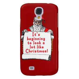 It's Beginning to Look a lot like Christmas Galaxy S4 Case
