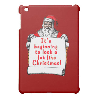 It's Beginning to Look a lot like Christmas iPad Mini Covers