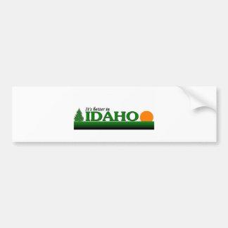 Its Better in Idaho Bumper Sticker