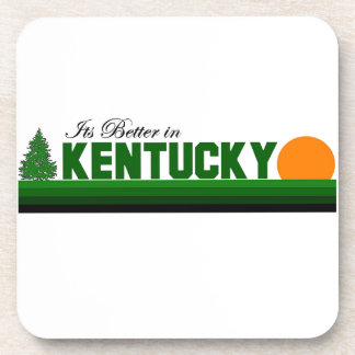 Its Better in Kentucky Beverage Coasters