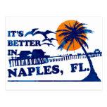 it's better in NAPLES, FL. Post Card