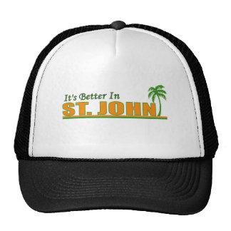 Its Better in St John Mesh Hat