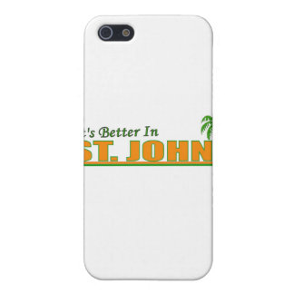 Its Better in St. John iPhone 5 Cover