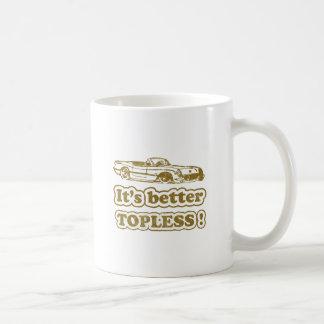 It's better Topless Basic White Mug