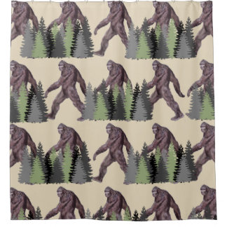 It's Big Foot Country Shower Curtain