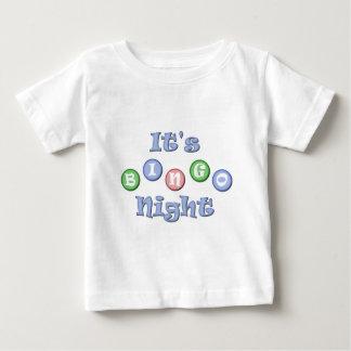 It's Bingo Night Baby T-Shirt