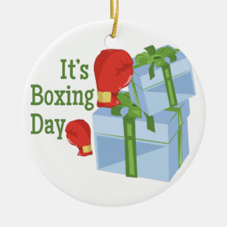 Its Boxing Day Christmas Ornament