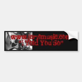 ITS Bumper Sticker