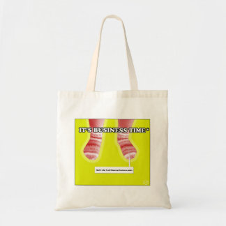 It's business time! tote bag