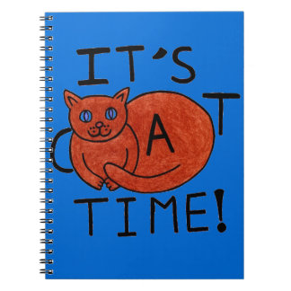 It's Cat Time! Notebooks