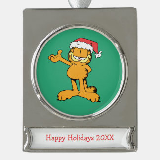 It's Christmas! Silver Plated Banner Ornament