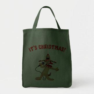 It's Christmas! Grocery Tote Bag