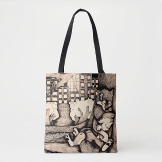 """""""It's cold out there"""" Tote Bag"""