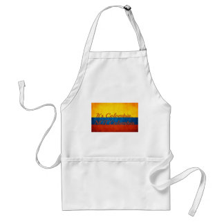 """""""It's Colombia, Not Columbia"""" Standard Apron"""