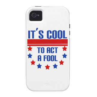 It's Cool to Act a Fool iPhone 4 Cover