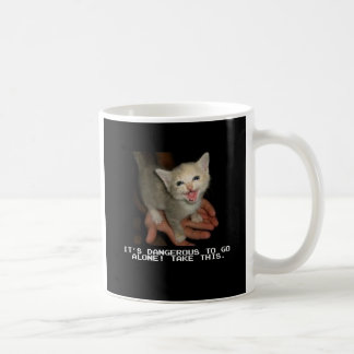 It's Dangerous To Go Alone Coffee Mug