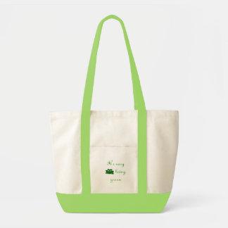 It's easy being green impulse tote bag