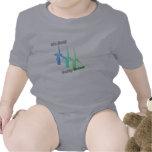 It's Easy Going Green 3 windmills Baby Bodysuits