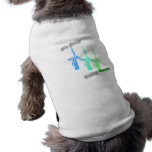 It's Easy Going Green 3 windmills Doggie Tee Shirt