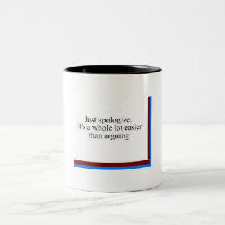 It's easy Two-Tone mug