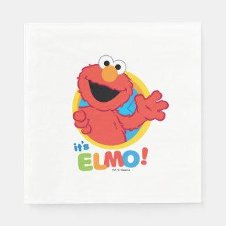 It's Elmo Disposable Serviette
