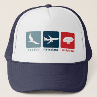 It's Falcon (the Balloon Boy)! Trucker Hat