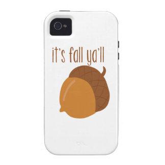 It's fall ya'll iPhone 4/4S case