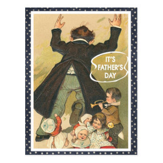 It's Father's Day Postcard