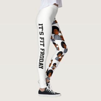 It's Fit Froday Text Leggings