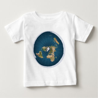 It's Flat.  No, Really. Baby T-Shirt