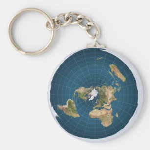 It's Flat.  No, Really. Key Ring