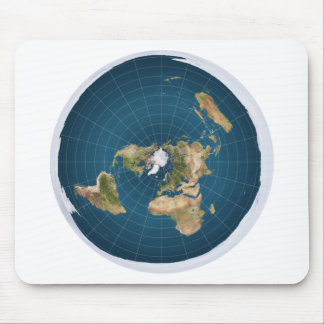 It's Flat.  No, Really. Mouse Mat