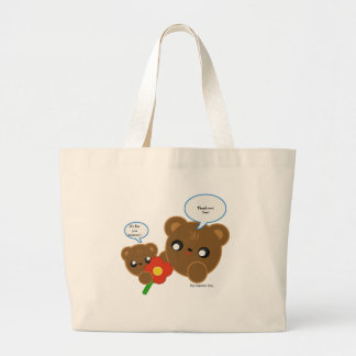 It's for you mommy!, Thank you! Son! Large Tote Bag