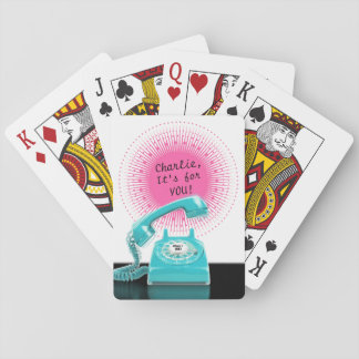 It's for you! Playing Cards