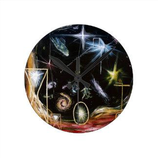 It's Full Of Stars - Custom Print! Round Clock