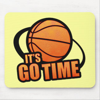 Its Go Time Basketball Mousepad