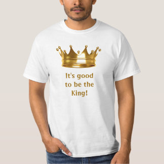 It's good to be the King Tee