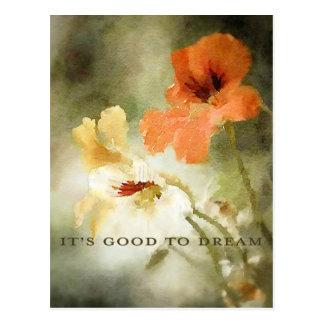 It's Good to Dream Postcard