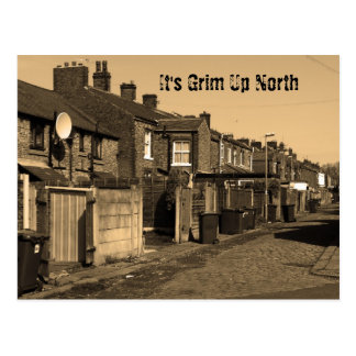 It's Grim Up North Postcard