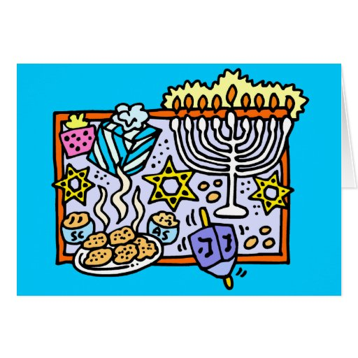 It's Hanukkah! Greeting Card