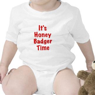 Its Honey Badger Time Bodysuits