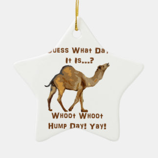 Its Hump Day Christmas Ornament