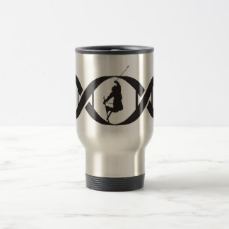 It's In My DNA - Snow Skiing Travel Mug