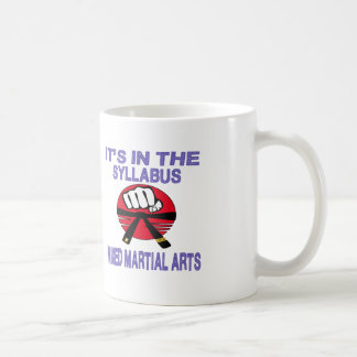 It's in the syllabus Mixed martial arts. Coffee Mugs