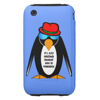 it's just another freakin' day in paradise tough iPhone 3 case